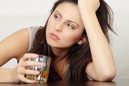 Alkoholsucht Frau