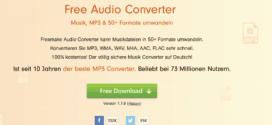 Audio-Dateien konvertieren: So geht's mit dem Audio-Konverter von freemake