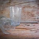 Milchige Gläser