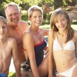 Pool Familie