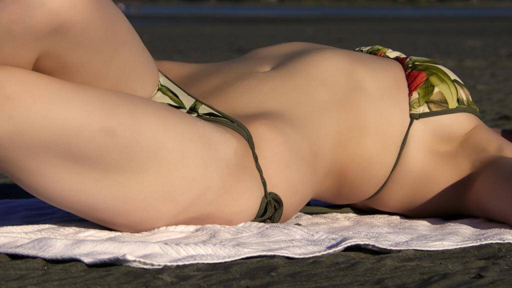 Sexy Bikinis: Im Urlaub genau das richtige