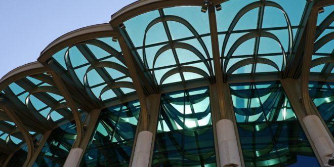 Vordächer aus Glas