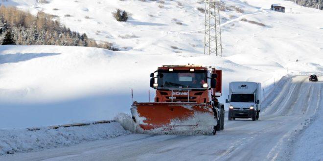 Der Winterdienst sorgt für Sicherheit auf Straßen und Gehwegen