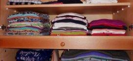 Ordnung im Kleiderschrank: Namensetiketten zum Einnähen verwenden
