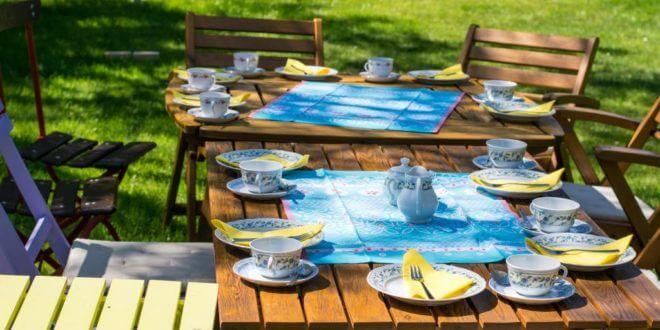 Gartenparty: 7 Ideen für die nächsten Feier